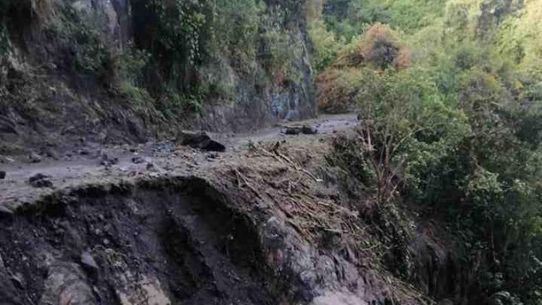 Campesinos de Tapias tienen 30 toneladas de alimentos represadas por falta de vías