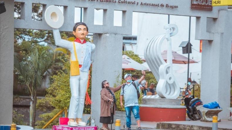 Nueve figuras alusivas al folclor tolimense adornarán el centro de la ciudad