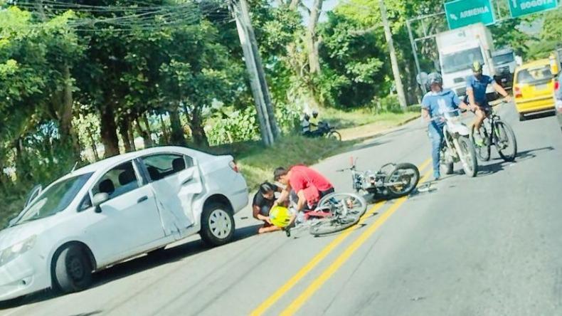 Hombre perdió la vida por accidente de tránsito en la vía al Totumo