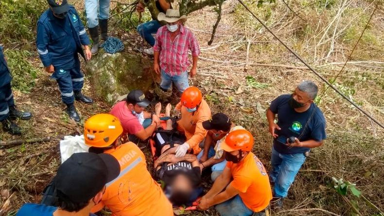 En un matorral de la meseta de Cajamarca fue encontrado joven desaparecido en el Tolima