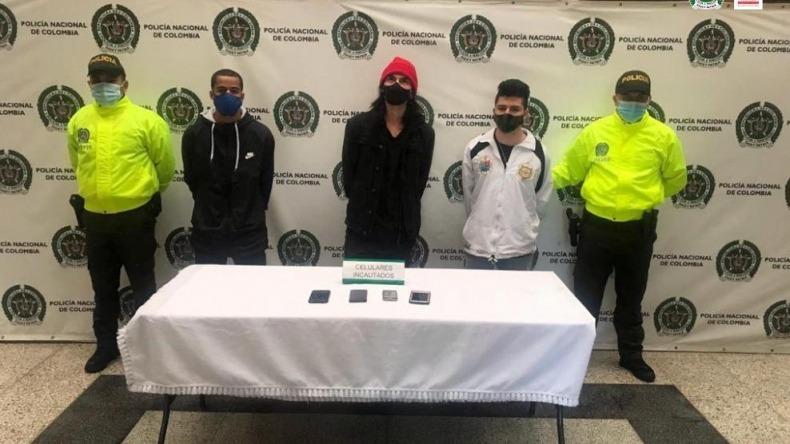 Capturan a cinco presuntos integrantes de la primera línea en Medellín