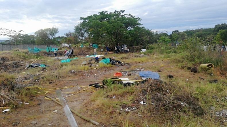 Autoridades adelantaron nuevo operativo de desalojo en predio privado de Nueva Castilla