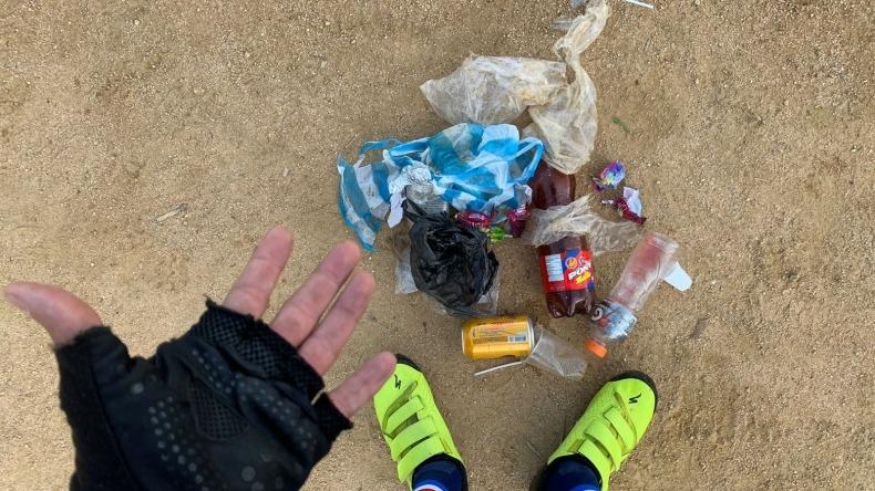 Ciudadanos sin cultura siguen usando como basurero los miradores de Ibagué