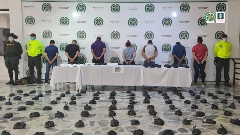 Capturados presuntos integrantes de la organización delincuencial 'Los del planchón'