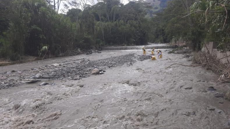 Turbiedad en el río Combeima aún impide normalizar servicio de agua en Ibagué