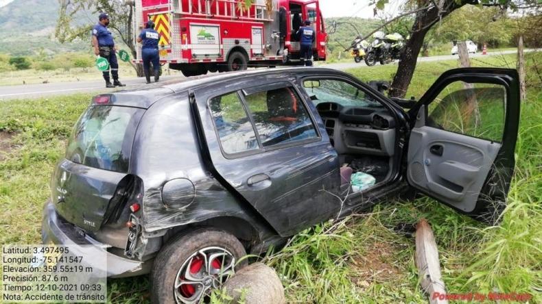 Fuerte accidente de tránsito en el municipio de Natagaima