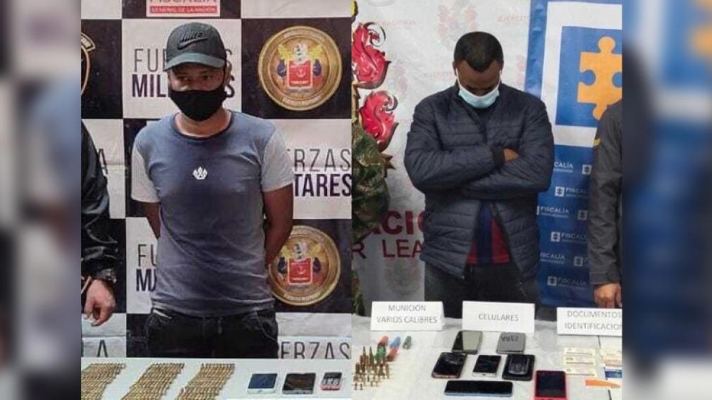 Capturados dos integrantes del grupo delincuencial 'Los Perea'