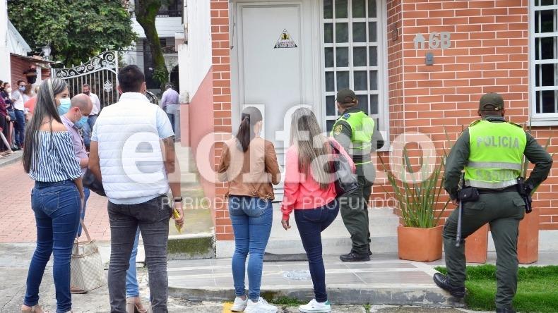 Autoridades devolvieron la caseta de portería en un condominio de Piedra Pintada