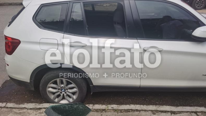 Reaparecieron los 'rompevidrios' y la víctima fue el rector de la Universidad Antonio Nariño de Ibagué, Ómar Giovanni Rosero