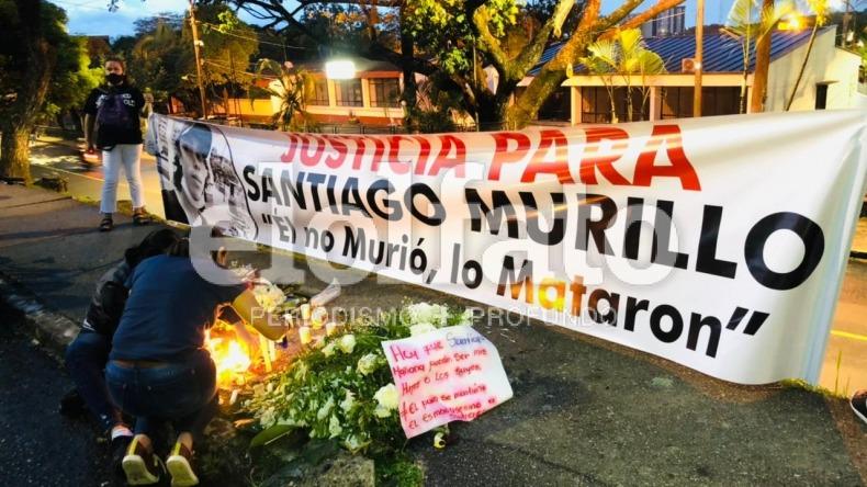 Fiscalía pide colaboración a manifestantes para hacer reconstrucción del crimen de Santiago Murillo en la 60 con Quinta