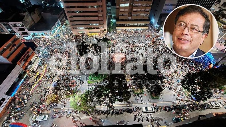 """""""Ibagué enorme vuelve a ser una ciudad libertaria y progresista"""": Petro, al referirse a la Marcha Carnaval"""