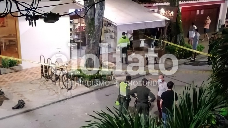 Dos personas heridas en medio de una riña en el barrio La Pola en Ibagué