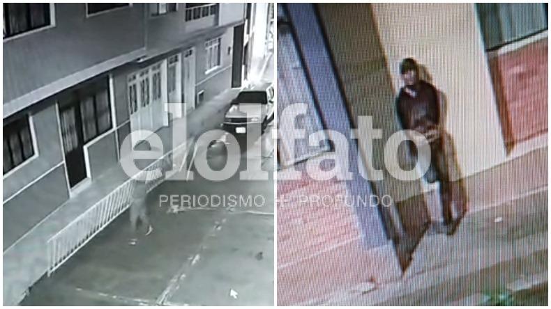 Vuelve y juega: ladrón arrancó reja de un edificio en el barrio Departamental