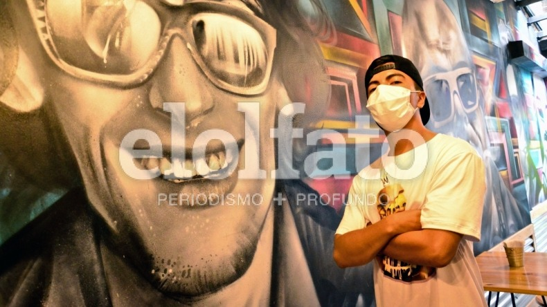 'Scrap': el grafitero ibaguereño que construye sentido de pertenencia en la ciudad por medio del arte