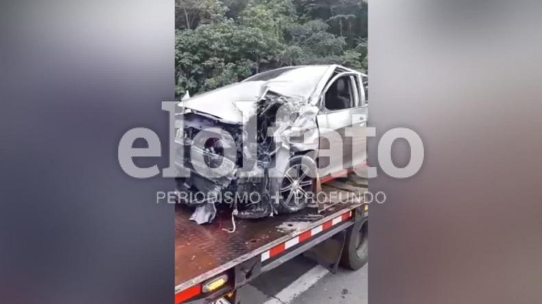 En cuidados intensivos está un niño tras trágico accidente de tránsito en la vía Ibagué - Calarcá