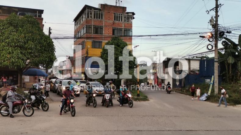 Analizan cierre del cruce en el barrio Palermo para mejorar movilidad en la avenida Pedro Tafur