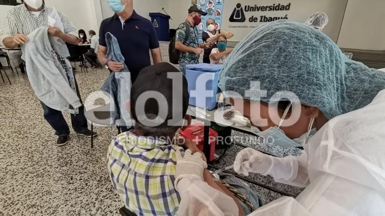 Así será la vacunación contra el COVID-19 para mayores de 65 años en la U. Ibagué