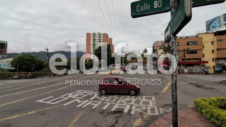 Repartidor vial de la calle 60 se hará con recursos propios y no con valorización: alcalde Hurtado