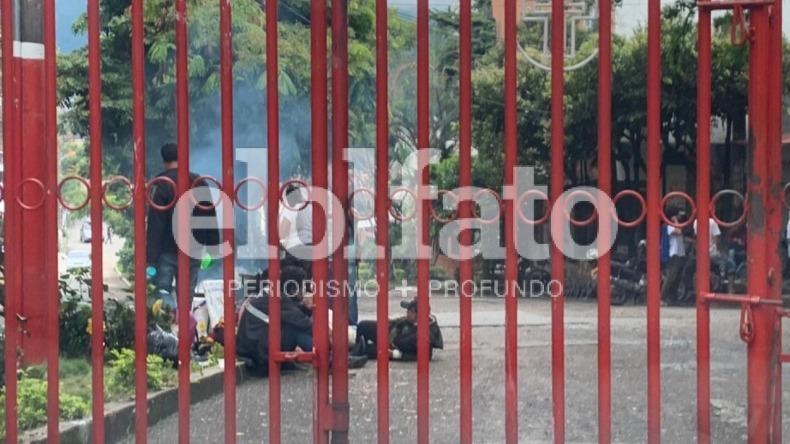 Denuncian negligencia de la Policía para evitar desmanes en Ibagué