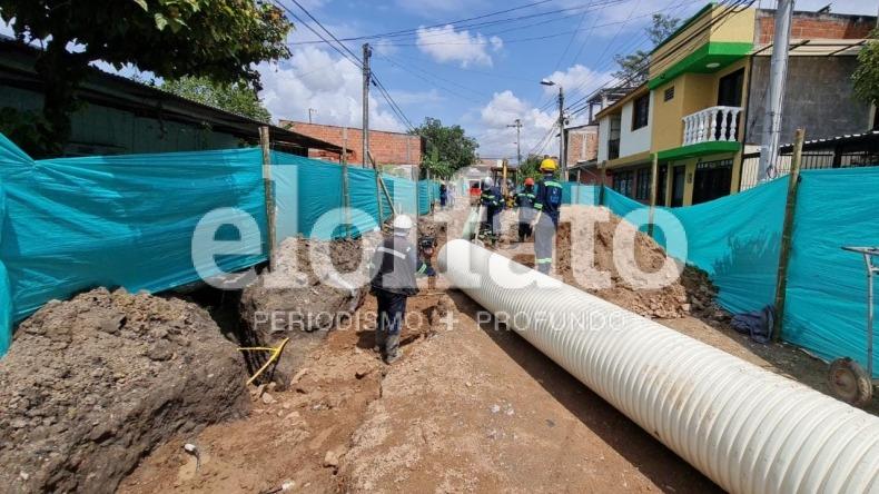 Modernización de redes de acueducto y alcantarillado beneficiará a más de 2.000 familias de Ibagué