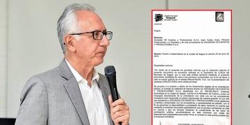 Aparece prueba que Jaramillo estaba enterado de toda la contratación del concierto de Carlos Vives
