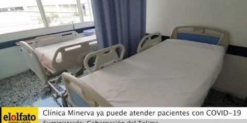 Embedded thumbnail for Antigua Clínica Minerva ya está habilitada para atender pacientes con COVID-19