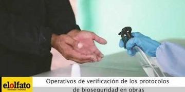 Embedded thumbnail for Autoridades verificaron el cumplimiento de los protocolos de bioseguridad en obras públicas de Ibagué