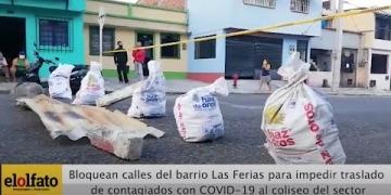 Embedded thumbnail for Vecinos del Coliseo de Ferias bloquean vías para evitar el traslado de contagiados con COVID-19 de la Permanente