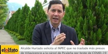 Embedded thumbnail for Alcalde Hurtado solicitó al INPEC que no traslade más presos a la cárcel de Picaleña por brote de COVID-19