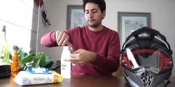 Embedded thumbnail for Así se debe desinfectar el casco antes y después de usar la moto para evitar contraer el coronavirus