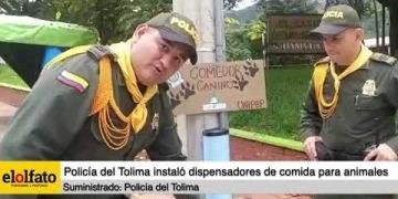 Embedded thumbnail for Continúa la instalación de dispensadores de comida para animales en condición de calle en el Tolima