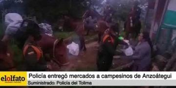 Embedded thumbnail for Policía del Tolima entregó mercados a campesinos de la tercera edad de la zona rural de Anzoátegui