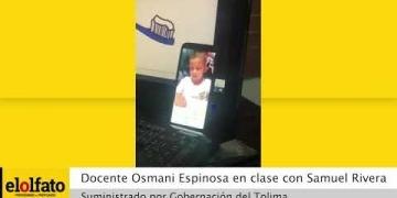 Embedded thumbnail for Con cinco años y pese a las dificultades por vivir en zona rural, Samuel Rivera nunca ha faltado a sus clases virtuales