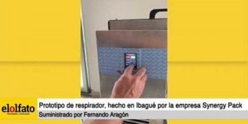 Embedded thumbnail for Empresa ibaguereña crea prototipo de respirador mecánico para la atención de pacientes con COVID-19
