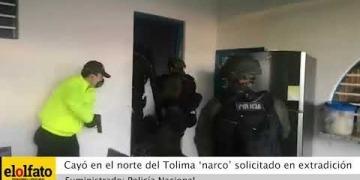 Embedded thumbnail for En video quedó registrado el seguimiento y posterior captura de un narco que se escondía en Falan, norte del Tolima