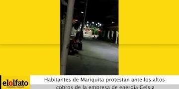 Embedded thumbnail for Habitantes de Mariquita protestaron con un cacerolazo por los desbordados cobros de Celsia en las facturas de energía
