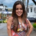 Angie Tatiana Villalba es modelo de talla baja y debutó en las pasarelas de L'Oréal Paris