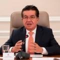 """""""El comité del paro y los ciudadanos deben entender que la situación epidemiológica del país no da para más"""": ministro Ruiz"""