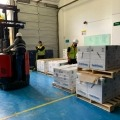 Llegaron más de 390.000 nuevas dosis de vacunas de Pfizer a Colombia