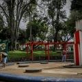 Ciudadanos sancionados realizaron jornada de limpieza en el parque Galarza