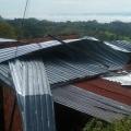Tormenta eléctrica dejó varias viviendas afectadas en zona rural de Armero Guayabal