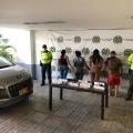 Judicializan a tres mujeres y un hombre por transportar cargamento de armas y municiones