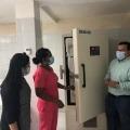 Alcaldía recibió en comodato ultracongelador para almacenar vacunas contra el COVID-19