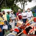 Cortolima entregó kits para la atención de emergencias por lluvias en el Cañón del Combeima