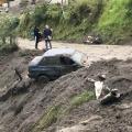 Nuevo deslizamiento de tierra en el Alto de la Línea provocó cierre total de la vía Cajamarca – Calarcá