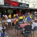 Así se vive la tarde de fútbol en Ibagué