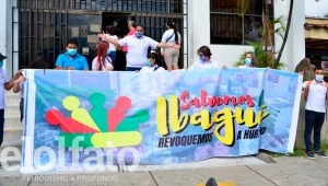 Se enredó recolección de firmas para revocar al alcalde de Ibagué, Andrés Hurtado