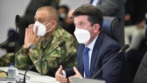 Ministro Molano defiende a la Fuerza Pública ante organizaciones internacionales