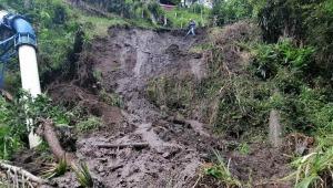 Emergencia en Cajamarca por deslizamiento de tierra