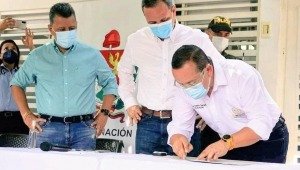 Firmaron escrituras del predio en el que funcionará la nueva sede de la UT en Mariquita
